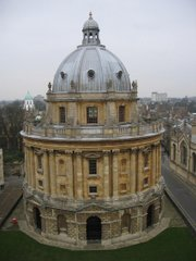 We're back in Oxford. It's always worth a second vist. Just probably not a third.